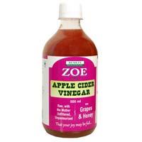Zoe Apple Cider Vinegar with Grapes & Honey
