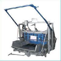 manual movable concrete block making machine
