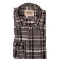 Vintage Grey Tonal Check Shirt