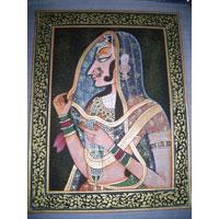 Neelam Madhubani Painting
