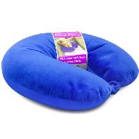 Microbead Travel Neck Pillow With Fleece