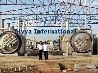 Economical Waste Tyre Recycling Pyrolysis Machine