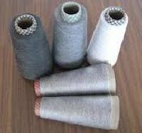 POLYESTER VISCOSE GREY YARNS