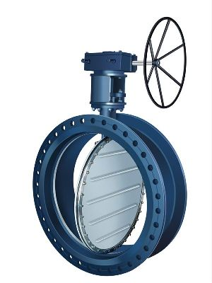 Double Flanged Offset Disc Butterfly Valve