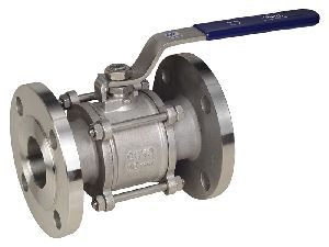 Investment Casted Three Piece Flanged End Ball Valve