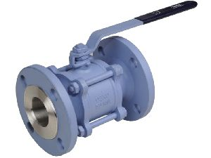 Wcb Flanged End Ball Valve