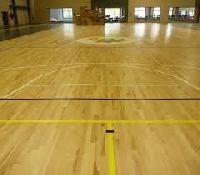 oak wooden sports flooring