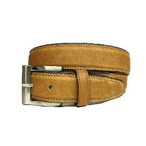 Leather Feather Edge Belts