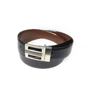 Leather Metro Reversible Belts