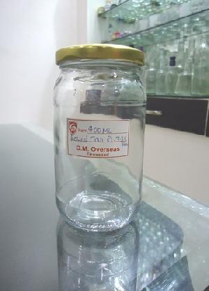 400ml Pickle Round Glass Jar