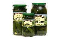 Gherkin Glass Jars