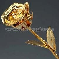 Golden Plated Roses