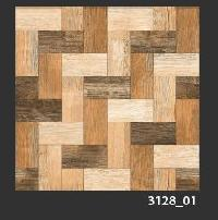 500x500 mm Digital Rustic Wooden Floor Tiles