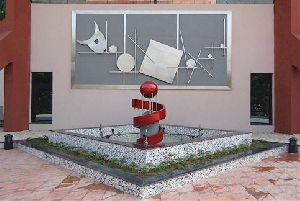 Stainless Steel Sculpture Fountains