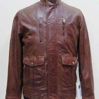 Mens Leather Long Jackets