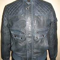 Mens Leather Quilted Jackets