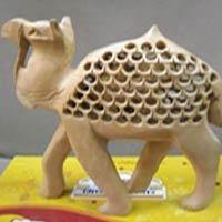 Wooden Jali Camel