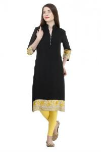 Embroidered Georgette Kurta