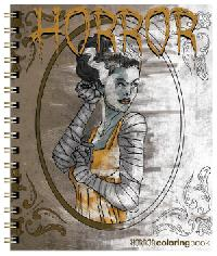 Action Horror Coloring Book