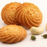 Elaichi Kaju Cookies