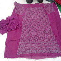 Chikan Embroidered Salwar Suit