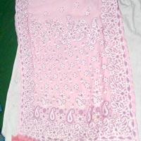 Chikan Embroidered Saree