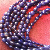 Blue Sapphire Beads Necklace