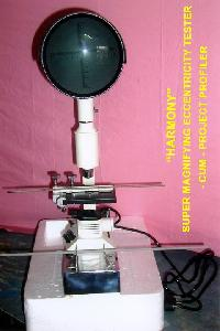 Super Magnifying Eccentricity Tester