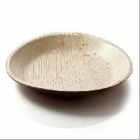 Disposable Leaf Round Plates