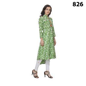 Cotton Kurtis Anarkali Style