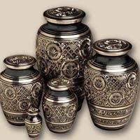 Brass Nickle Urns
