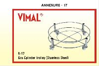 Gas Cylinder Trolley (stainless Steel)
