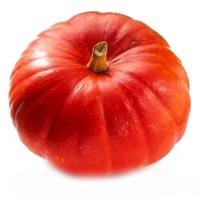 Fresh Red Pumpkin