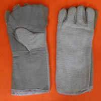 Asbestos Leather Hand Gloves