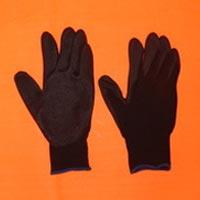 Black PU Coated Hand Gloves