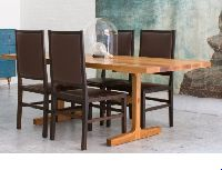 Wood Trestle Table