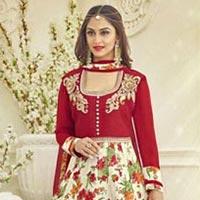 Red Designer Suit