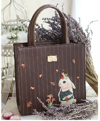 Lovely Retro Embroidered Rabbit Handbag