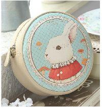 Printed Cute Rabbit Mini Bag