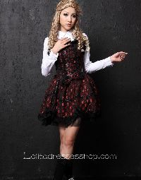 Purple Two-piece Shirt Collar Lolita Dress