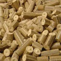 Groundnut Shell Briquettes