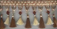 Brown Tassel Fringes