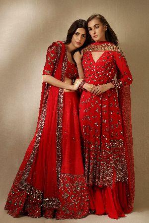 Ladies Embroidered Lehenga Choli