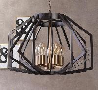 Toro Cage Black Bulb Holder