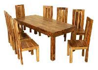 Wood Dining Set Pc - 86