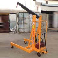 Manual Hydraulic Floor Crane