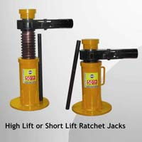 Ratchet Type Screw Jack