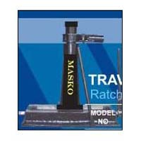 Ratchet Type Screw Jack With Traversing Base