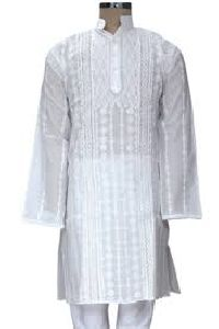 ef8b0d659e Mens Chikan Kurta - Manufacturers, Suppliers & Exporters in India