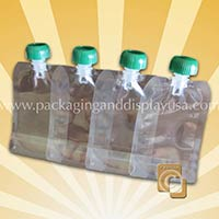 Plastic Drink Pouch